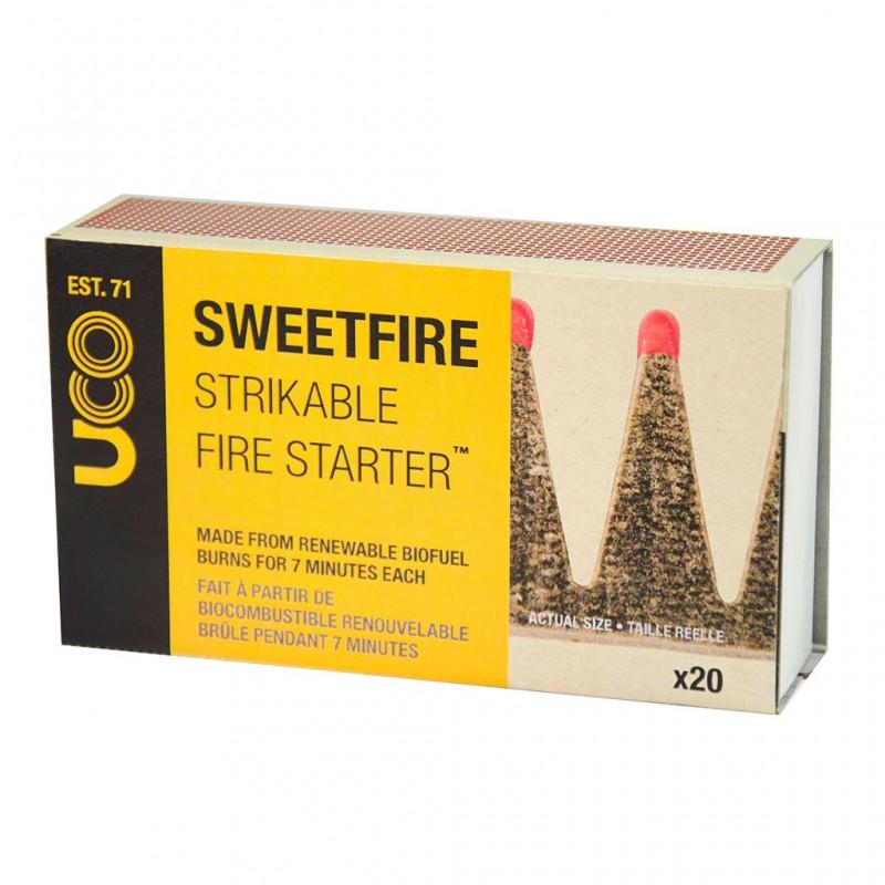 Uco Sweetfire Feuerstarter Schachtel