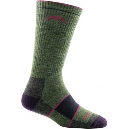 Darn Tough Hiker Boot Sock Damen Grün / Lila