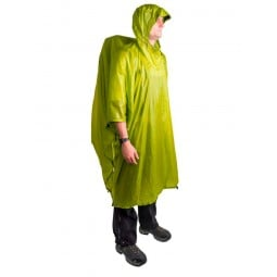 Sea to Summit Ultra-Sil Nano Poncho Lime als Poncho