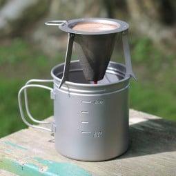 Vargo Travel Coffee Filter im Einsatz