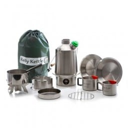 Kelly Kettle Ultimate Scout Kit Edelstahl