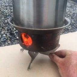 Kelly Kettle Pot Support Standfuß unter Feuerstand