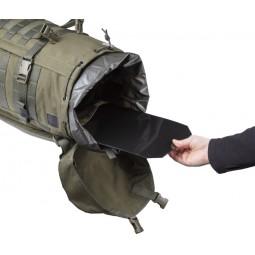 Savotta Jäger II Rucksack Öffnung Innenansicht mit Rückenplatte