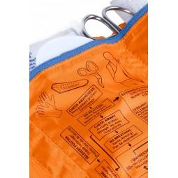 Ortovox First Aid Roll Doc Mid Detailansicht Beschriftung
