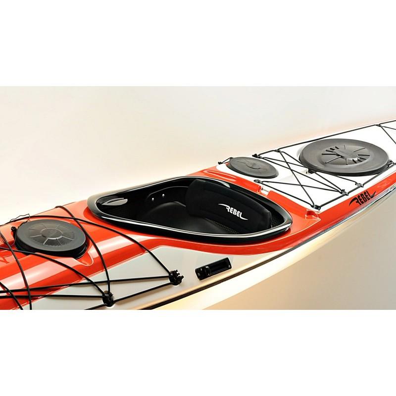 Rebel Kayaks Jara LV weiss-rot