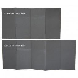 Evernew FP Mat 100 und 125 Größenvergleich