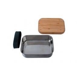 BasicNature Lunchbox Bamboo offen