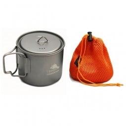 Toaks Titanium Ultralight 550ml Pot mit Packsack