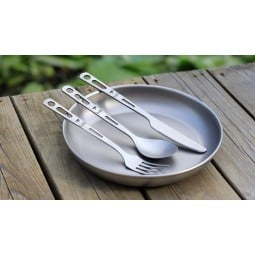 Keith Titanium 3 Piece Cutlery Set