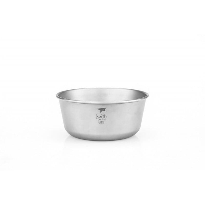 Keith Titanium Bowl 550 ml