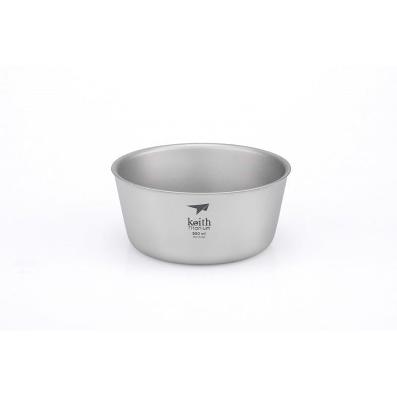 Keith Titanium Doublewall Bowl 550 ml