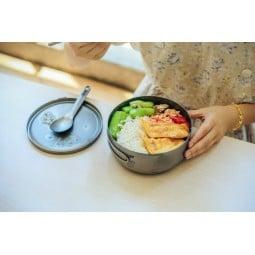 Keith Titanium Lunch Box mit warmen Mahlzeiten