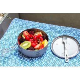 Keith Titanium Lunch Box mit kalten Mahlzeiten