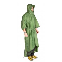 Exped Tarp Poncho als Poncho