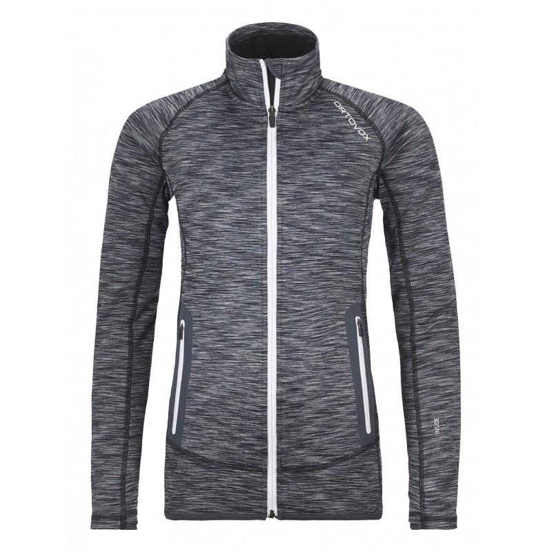 Ortovox Fleece Space Dye Jacket W Anthrazit