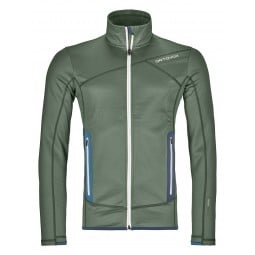 Ortovox Fleece Jacket Men oliv