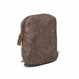 Waldkauz Reißverschlusstasche klein
