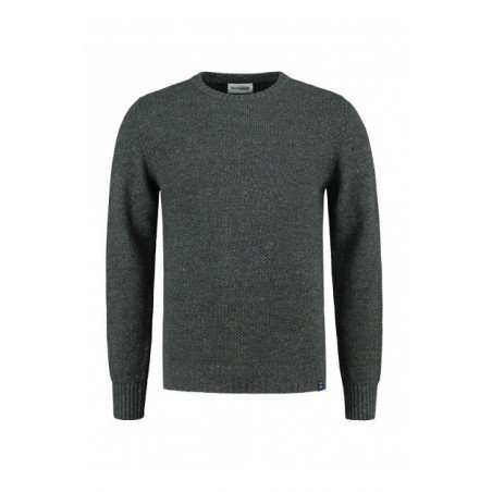 Blue LOOP Forest Sweater