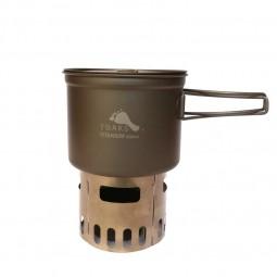 Toaks Titanium Toaks Ultralight Titanium Cook System CS04