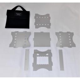 Savotta Big Bad Stove Hobo Einzelteile und Packtasche