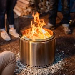 Solo Stove Bonfire im Einsatz