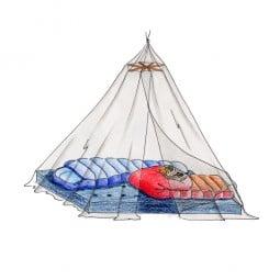 Basic Nature Moskitonetz Klassik Baldachin Beispiel mit Schlafsäcken