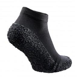 Skinners Barfuß Schuhe Schwarz/Weiß Rückansicht