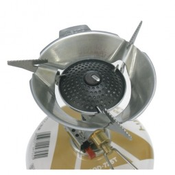 Soto Windschutz Detailbild mit Micro Regulator