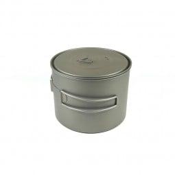 Toaks Titanium 1300ml Pot mit eingeklappten Griffen