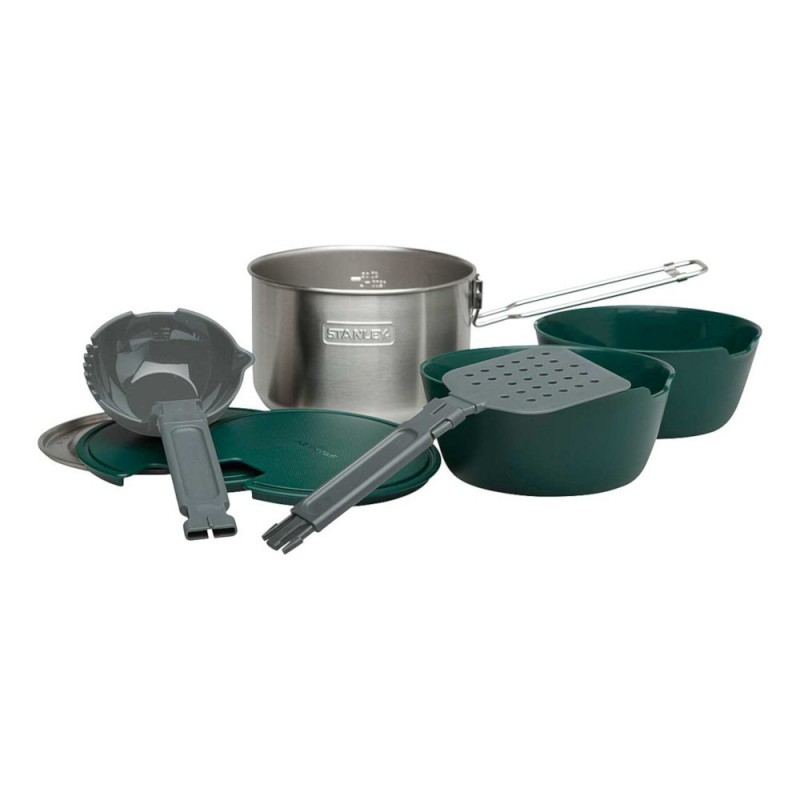 Stanley Adventure Two Bowl Cook Set Lieferumfang