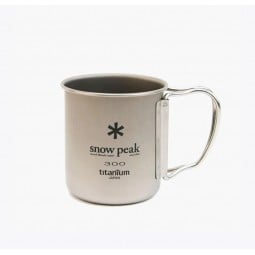 Snow Peak Ti-Single 300 Cup Titantasse