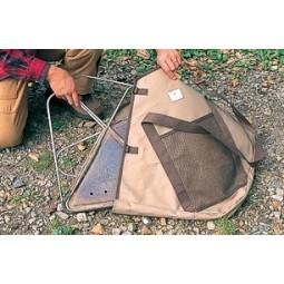 Snow Peak Pack & Carry Fireplace Kit Packtasche im Einsatz