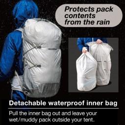 Montbell Altiplano Pack 30 Rucksack mit herausnehmenbaren wasserdichten Packsack