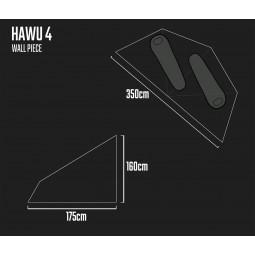 Savotta Hawu 4 Wall Piece Maße