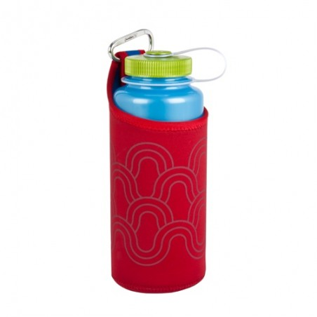 Nalgene Bottle Clothing Flaschentasche rot
