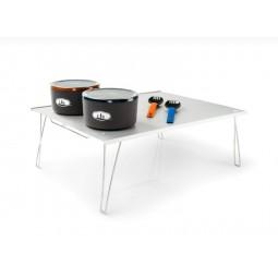 GSI Ultralight Table Large mit Geschirr