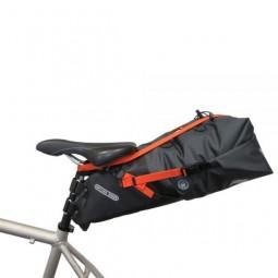 Ortlieb Seat Pack Support Strap mit Seat Pack, seitliche Ansicht