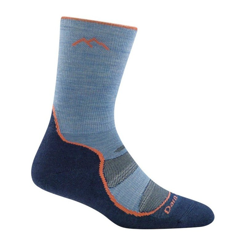 Darn Tough Light Hiker Socke Denim