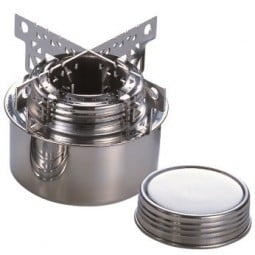 Evernew Alcohol Burner Set mit Cross Stand