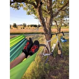 Amazonas Silk Traveller Leichthängematte - ideal auf Bikepacking Tour