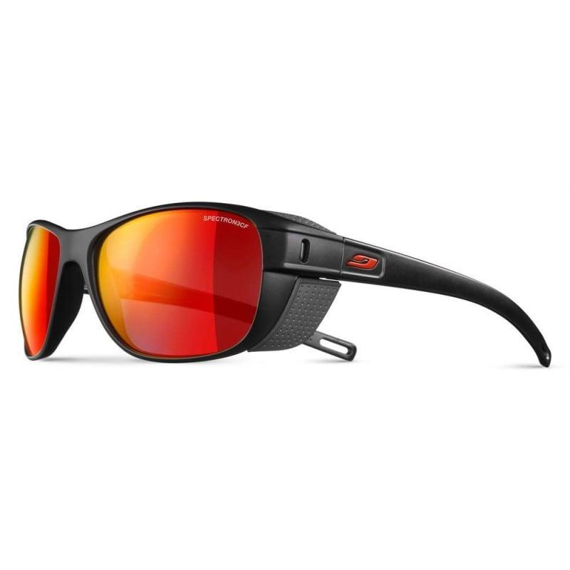 Julbo Camino Sonnenbrille Schwarz/Grau - J5011114 - mit Spectron Multi Red Glas Kat. 3