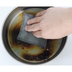 Stainless Steel Cloth Konvektions-Tuch - ideal auch zur einfachen Reinigung von Töpfen und Geschirr unterwegs