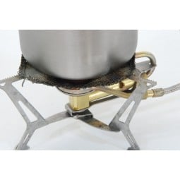 Stainless Steel Cloth Konvektions-Tuch - verteilt effizient die Hitze auf den gesamten Topfboden
