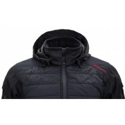 Carinthia G-Loft ISG Jacket Detailansicht Kapuze mit darunterliegendem Kragen