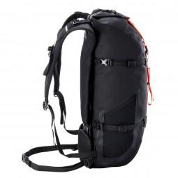 Ortlieb Atrack Bikepacking 25 Rucksack Black Matt seitlich