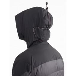 Atle 2.0 Jacket Detailansicht Rückseite Kapuze mit Kordelzug