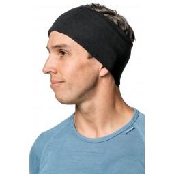 Lite Tube Black als Stirnband