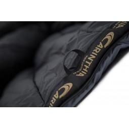 Carinthia G-350 Kunstfaserschlafsack Materialverstärkung auf der länge des Reißverschluss