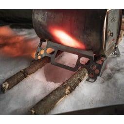 Savotta Hawu WS-400 Holzofen lässt sich einfach und stabil aufstellen