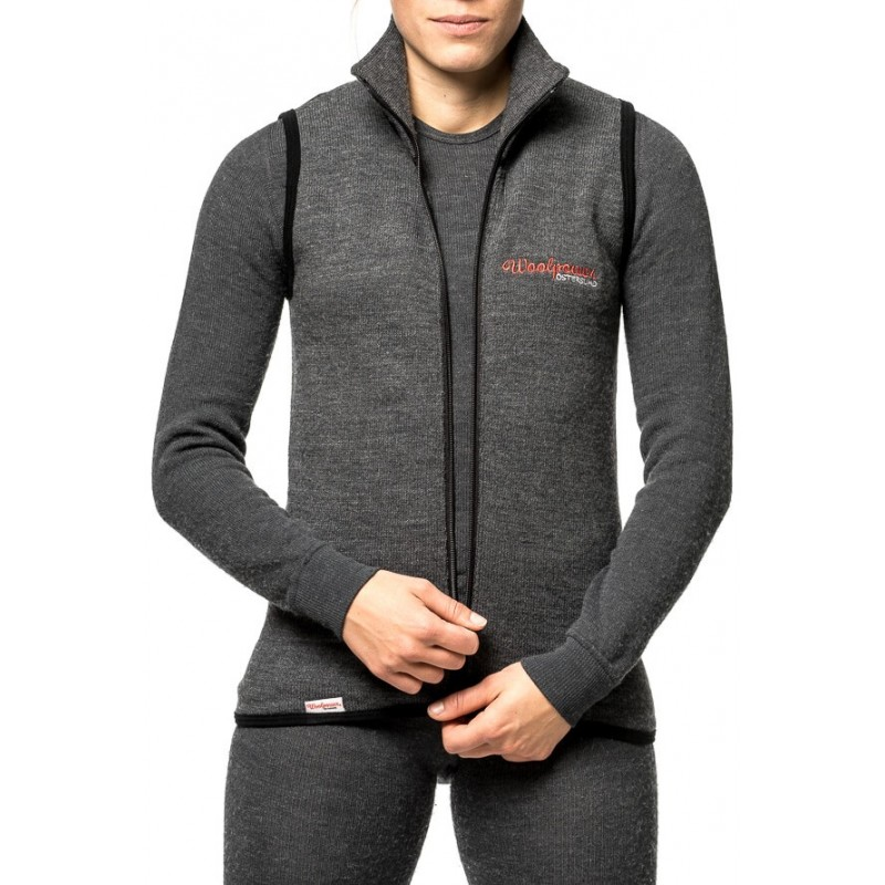 Woolpower Vest 400 in Grau